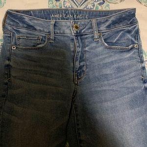 american eagle women jeans size 6